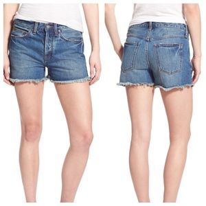 Free People Uptown Denim Shorts, 26